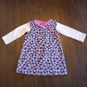 Tea Collection kimono style dress size 6-12 months